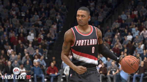 NBA live 15 demo