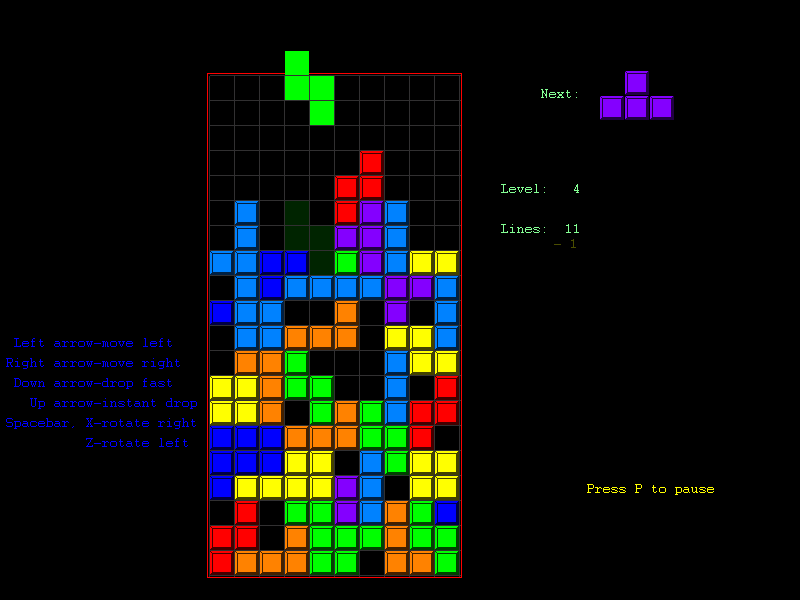 Tetris live-action movie