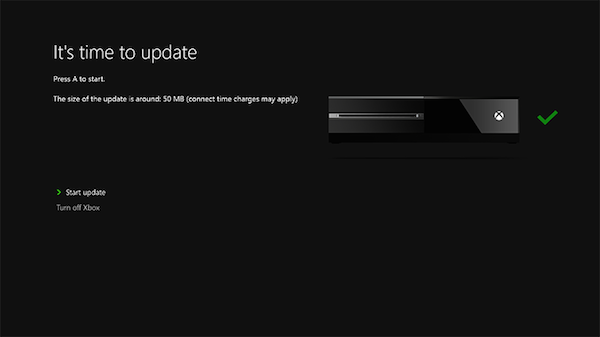Xbox System Update